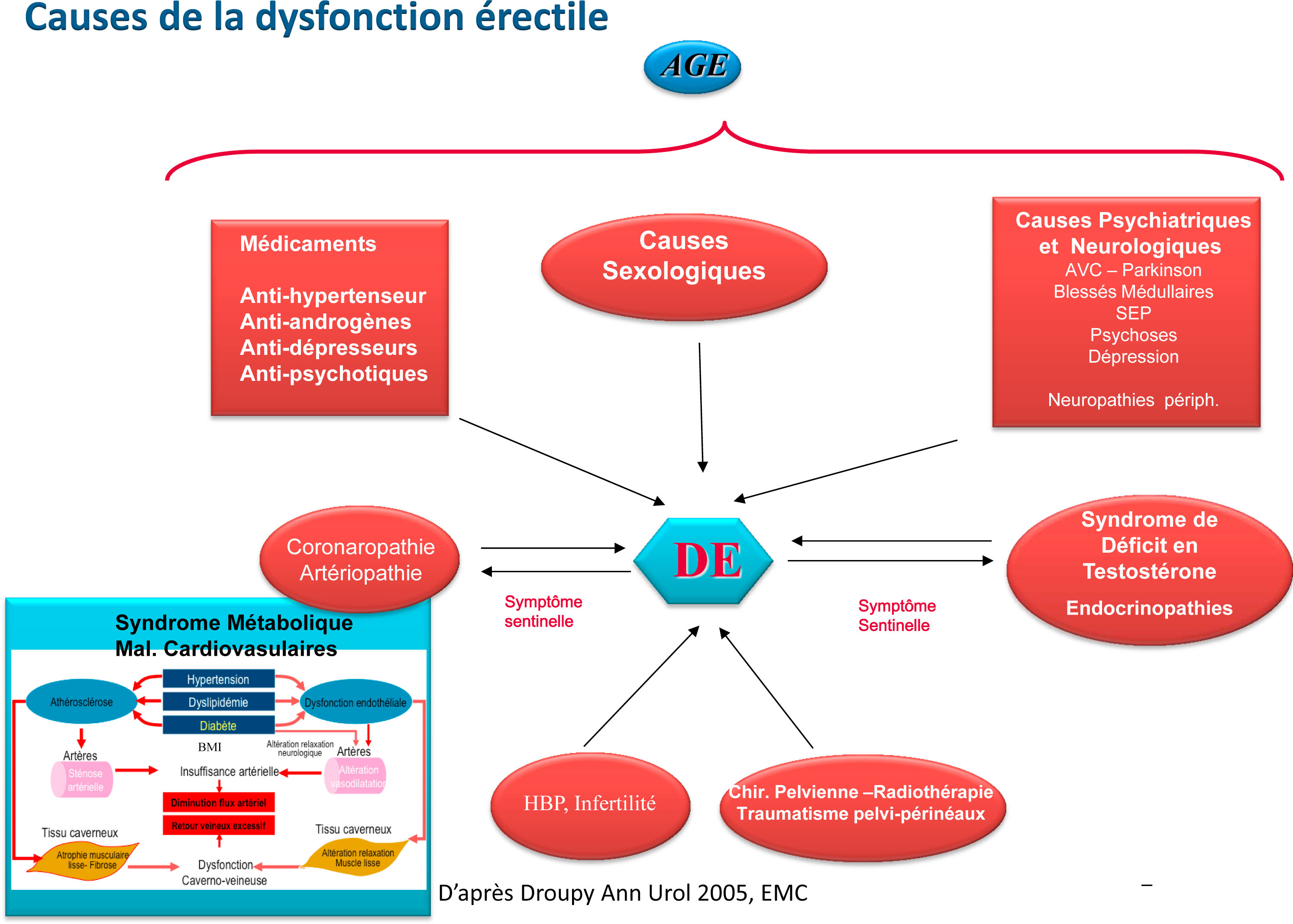 dysfonction eréctile cause